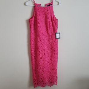 Marina Hot Pink Dress Size Small